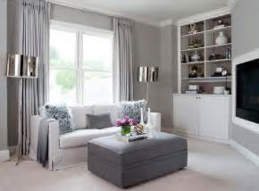 grey livingroom gray living room with corner tv niche contemporary living room