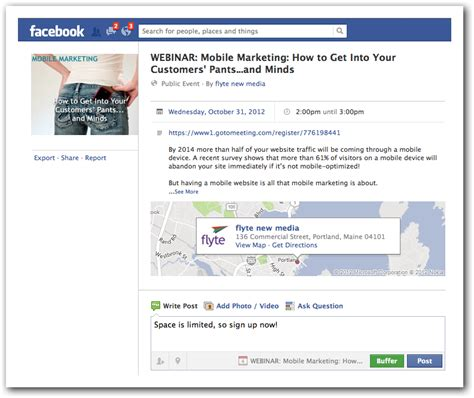 How To Promote Your Business Through Facebook Events
