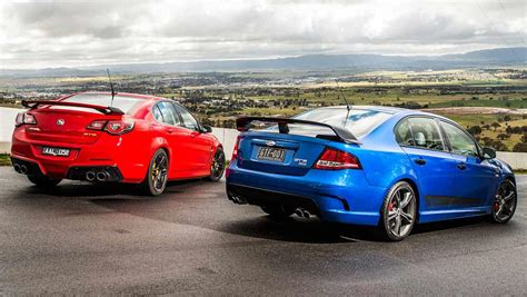 holden gts ford falcon gt f v hsv gts 2014 review carsguide