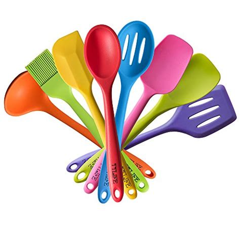 colorful kitchen utensils compare price to rainbow spatula tragerlaw biz 2356