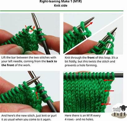 Knit Purl Right Left Increases Side Hole
