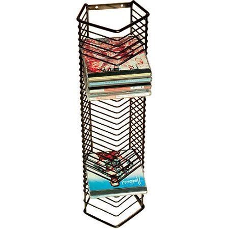 cd rack walmart atlantic onyx 35 cd wire storage tower walmart