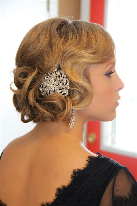 Great Hairstyles For by Obsession Great Gatsby Style Onsite Muse Wedding Hair