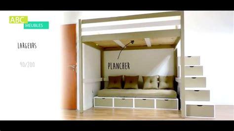 lit mezzanine sylvia abc meubles