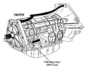 Ford 5R55W Transmission Problems submited images