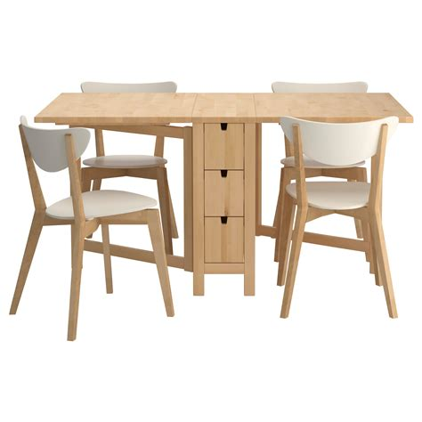 ikea dining table ideas norden nordmyra table and 4 chairs ikea for the love