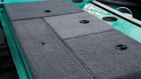 How To Carpet A Boat by Bass Boat Carpet Replacement How To Part Ii Storage
