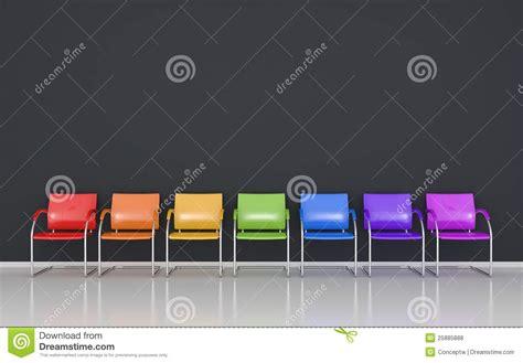 Sgabelli Colorati by Sgabelli Colorati Fotografie Stock Libere Da Diritti