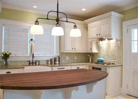 Kitchen Island Pendant Lighting Ideas - va highland bungalow kitchen remodel traditional kitchen atlanta by instinctive design