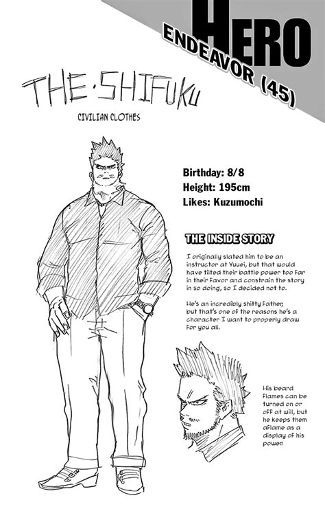 Character info: Endeavor   Boku no hero academia, Hero