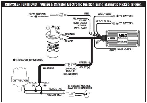 1982 Ford Ignition Module Wiring by How To Install An Msd 6a Digital Ignition Module On Your