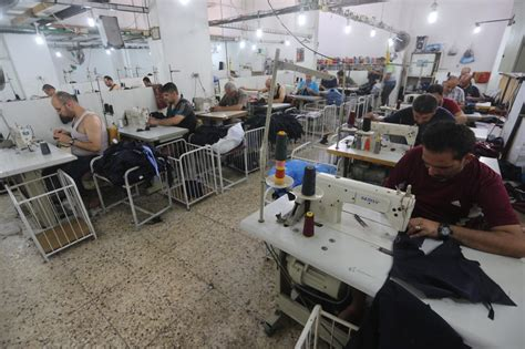 siege vibrant workers are weakest link in gaza s garment trade sri lanka