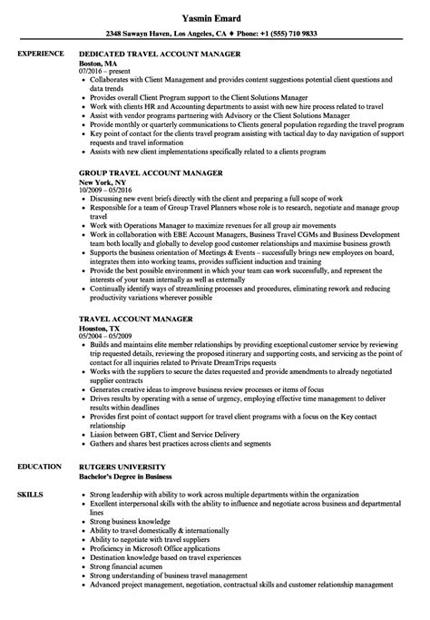 accounts manager resume templatedosecom