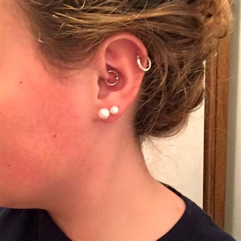 latest daith piercing pictures  ideas
