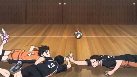 haikyuu season  karasuno loses  aoba johsai youtube