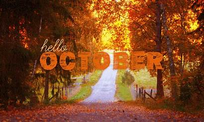 October Hello Fall Halloween Quotes Autumn Welcome