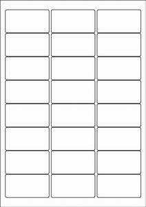 label template 24 per sheet printable label templates With 3x8 labels