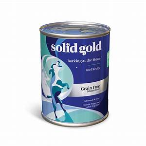 solid gold barking at the moon 95 beef grain free canned With solid gold wet dog food