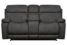 wallaway reclining loveseat bodie leather power rocker reclining loveseat w console