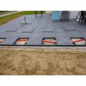 Dalle Pour Terrasse Sur Plot : terrasse sur plot dalle tq14 jornalagora ~ Premium-room.com Idées de Décoration
