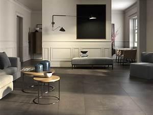 Pavimento in gres porcellanato effetto cemento EGO By Ceramica d'Imola