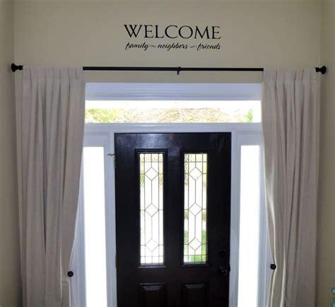 best 20 front door curtains ideas on door