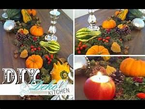 Herbst Dekoration Tisch : diy opulente herbst deko f r den tisch deko kitchen youtube ~ Frokenaadalensverden.com Haus und Dekorationen