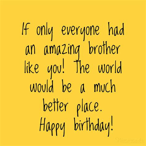 happy birthday wishes  brother  funny