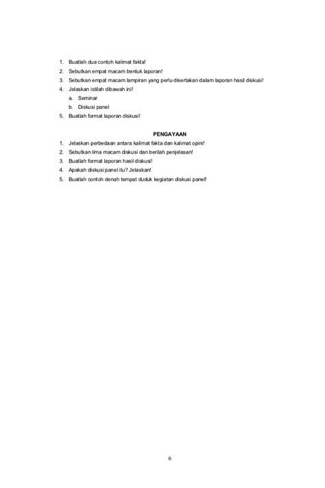 Laporan Notulis by 3 Soal Ulangan Harian 1