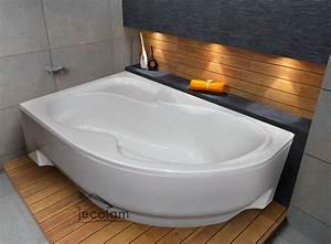 Acryl Badewanne Reinigen : badewanne wanne eckwanne acryl 170 x 100 cm links rechts ~ Lizthompson.info Haus und Dekorationen