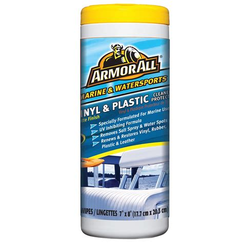 Boat Seat Cleaner And Protector by Armor All Vinyl Plastic Cleaner Protector Wipes