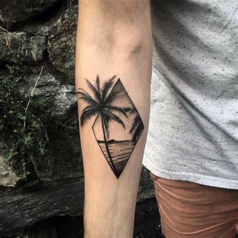 small beach tattoos  men seashore design ideas