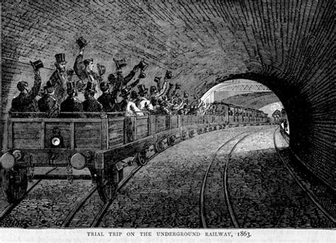 Jan 10, 1863: The London Underground opens with gas-lit