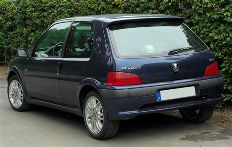 File:Peugeot 106 Sport Facelift rear 20100914.jpg ...