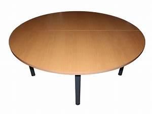 Table D Occasion : table ronde 6 personnes 160cm adopte un bureau ~ Teatrodelosmanantiales.com Idées de Décoration