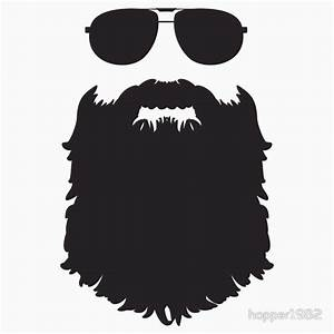 """""""AVIATOR GLASSES AND BEARD"""" Stickers by hopper1982 Redbubble"""