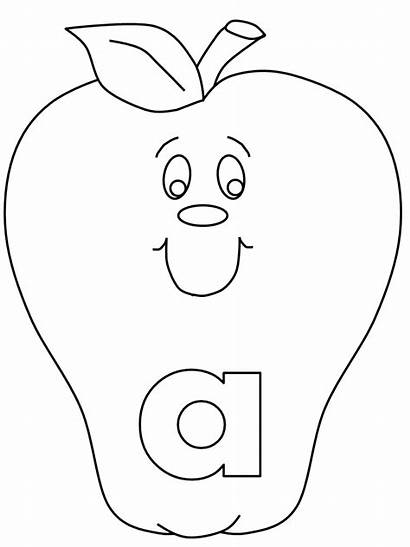 Coloring Alphabet Pages Printable Toddler Letter Preschool