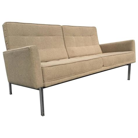 florence knoll sofa vintage vintage florence knoll parallel bar sofa settee for knoll