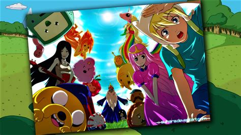 Adventure Time Wallpaper Anime - anime adventure time finn and fionna search