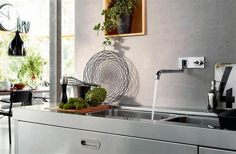 robinet mural de cuisine mitigeur de cuisine uno2 mural axor ney