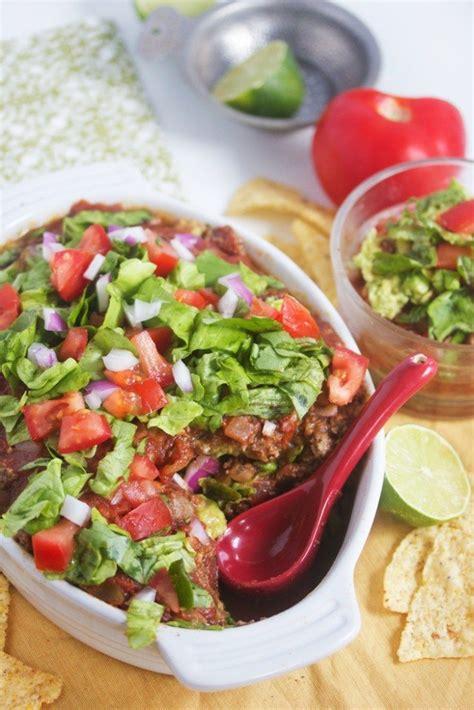 layered dip layered taco dip recipe dishmaps