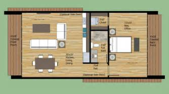 700 Sq Ft Home Plans Ideas by Modern Style House Plan 1 Beds 1 Baths 700 Sq Ft Plan 474 8