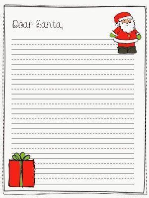 freebie      grade santa letter