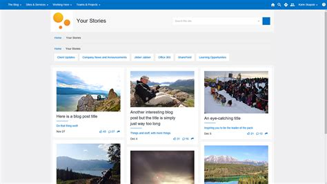 Gallery Blog Tiles For Sharepoint  Sean Wallbridge