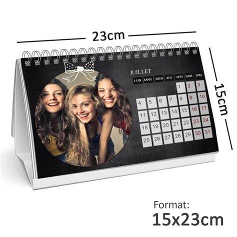 calendrier bureau calendrier photo personnalisé de bureau 15x23cm