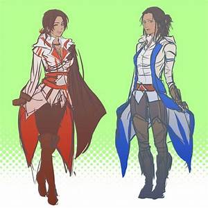 Genderbent Connor and Ezio | Nothing is true, Everything ...