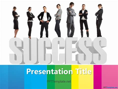 Success Powerpoint Templates Free by Free Corporate Success Ppt Template