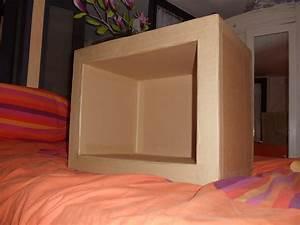 Fabriquer Un Personnage En Carton : meuble en carton d buter et faire son premier meuble ~ Zukunftsfamilie.com Idées de Décoration