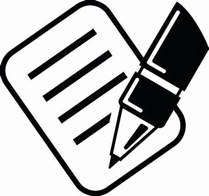 Signing Clipart Paper Cliparts Papers Sign Clip