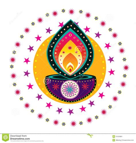 Colorful Indian Pattern Stock Image  Image 31553881